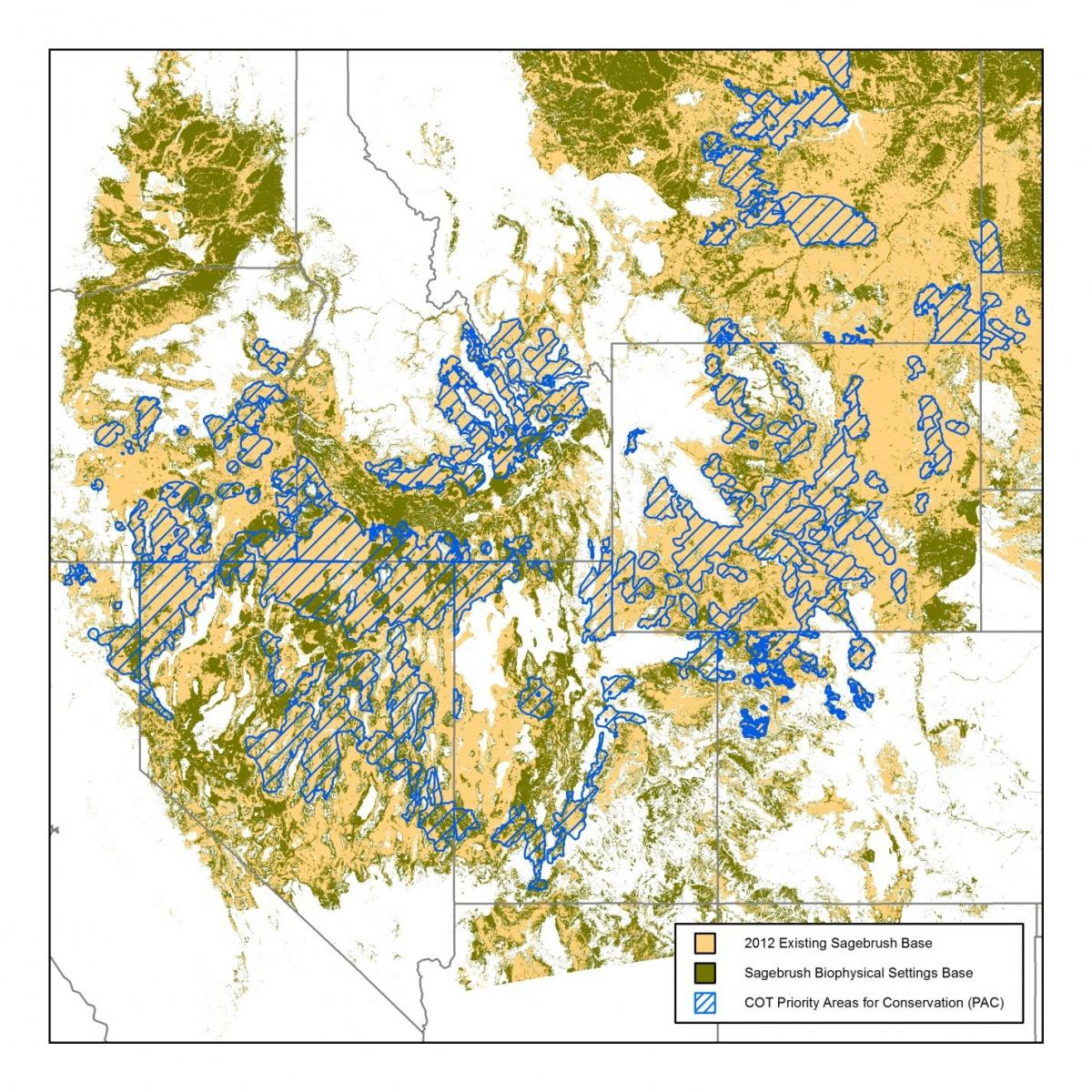 Sagebrush layer map