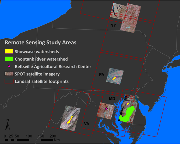 Advances in available information and data management allow  analysis of agricultural conservation management on a field-by-field basis, integrating high-resolution maps of crop type and winter cover crop performance with privacy-protected knowledge of farm conservation practice implementation records.