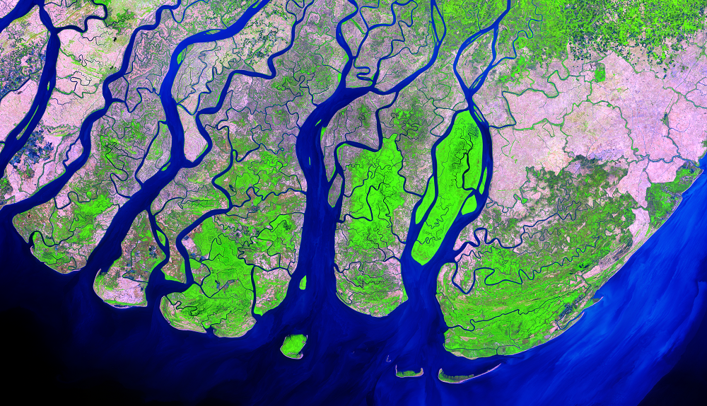 Jan. 29, 2014, Landsat 8 (path/row 133/49) — Ayeyarwady Delta, Myanmar