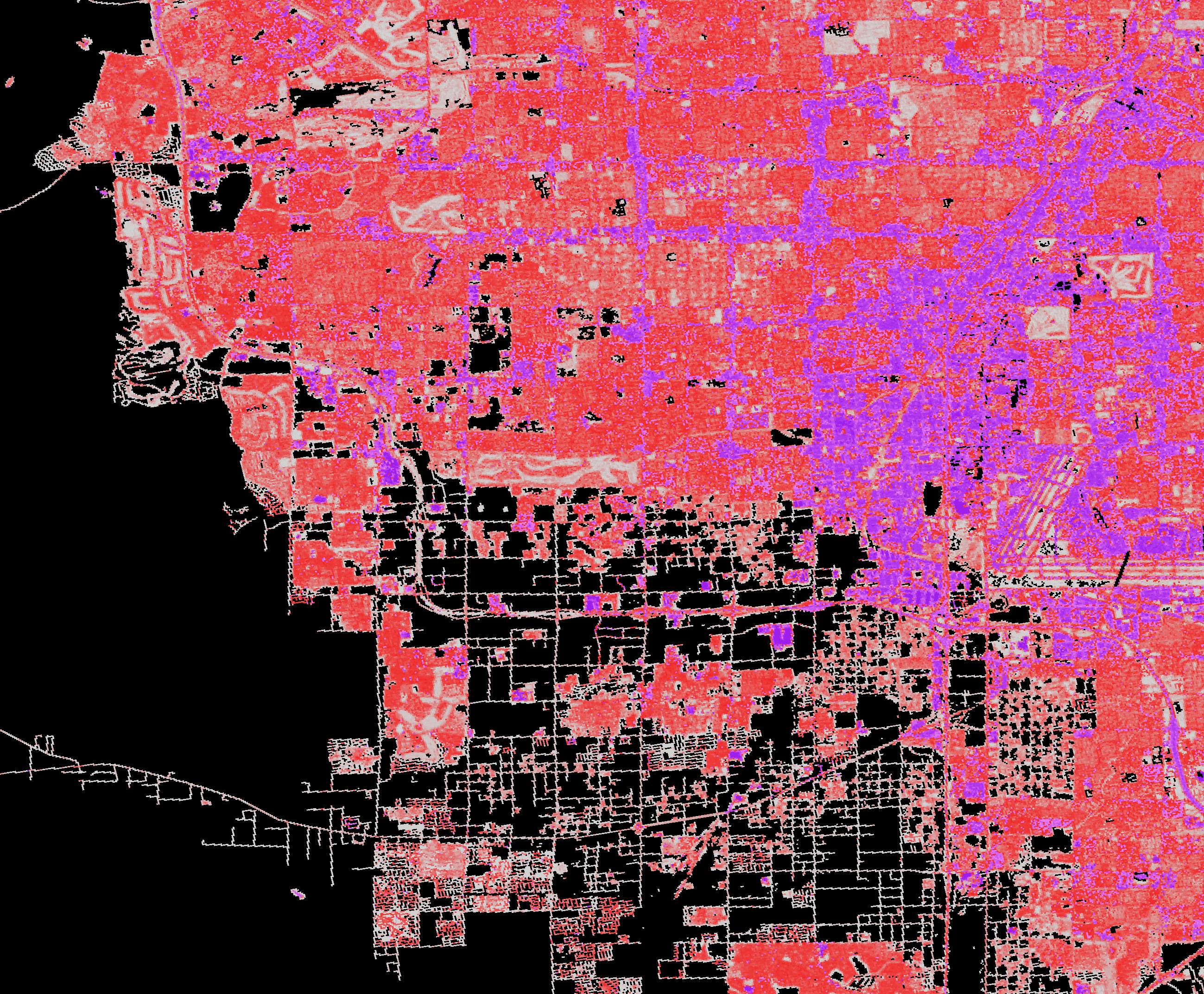 National Land Cover Database (NLCD) 2006, Impervious Surface, Las Vegas, Nevada,
