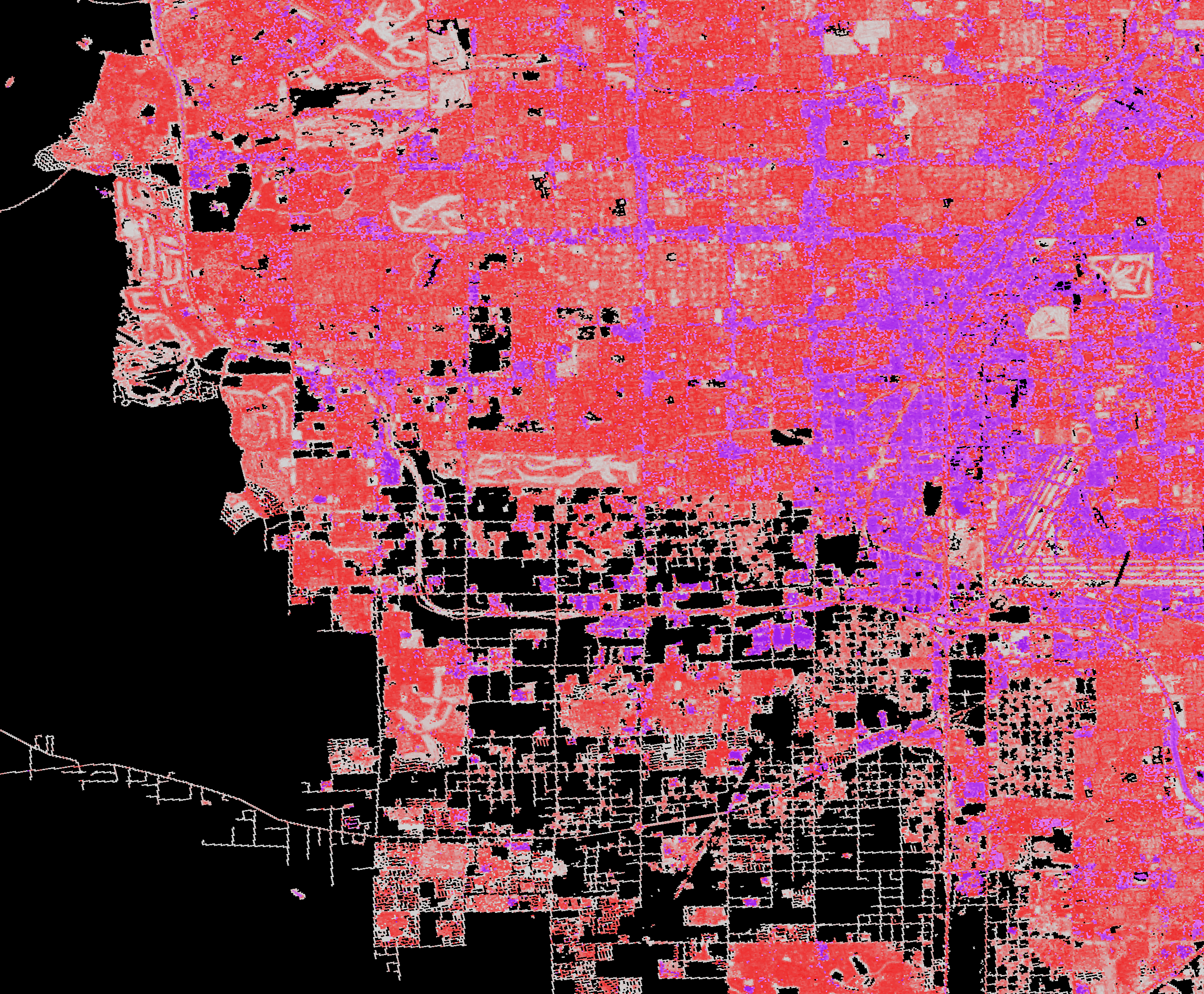 National Land Cover Database (NLCD) 2011, Impervious Surface, Las Vegas, Nevada,