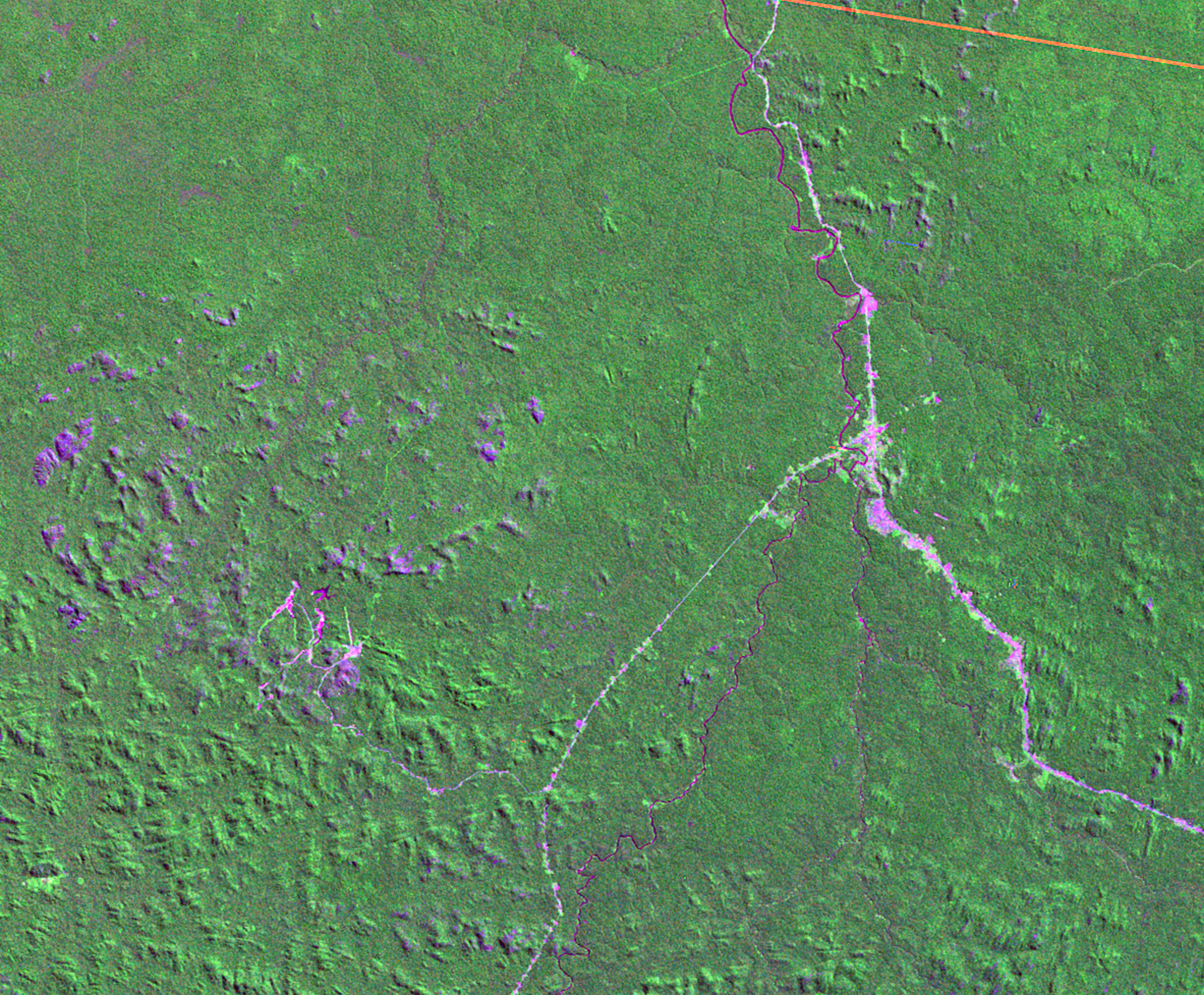 June 19, 1975, Landsat 2 (path/row 249/67) — Ariquemes, Brazil