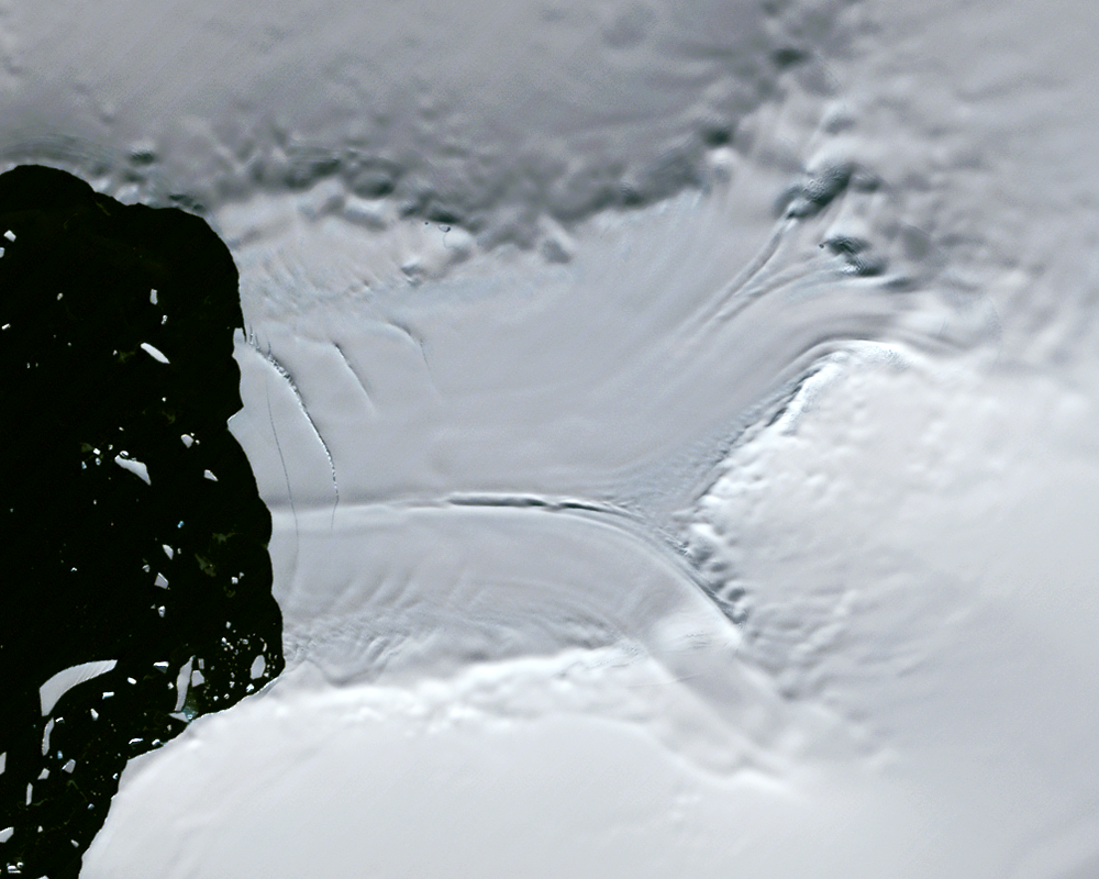 Mar. 15, 1989, Landsat 4 (path/row 219/111) — Verdi Ice Shelf, Antarctica
