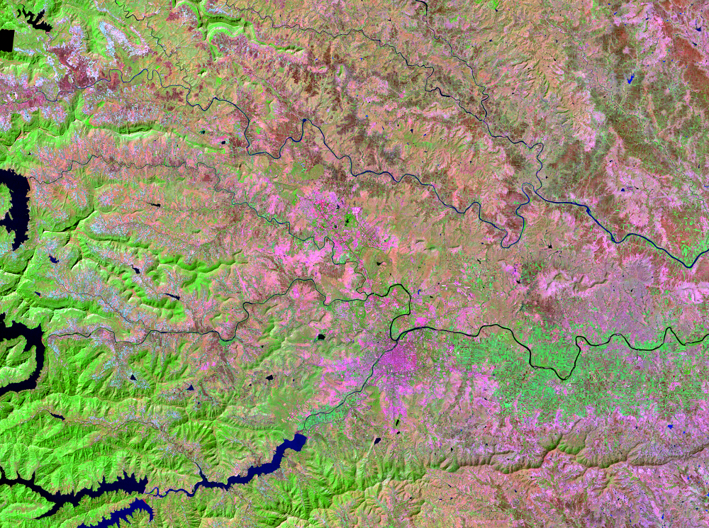 Nov. 5, 1993, Landsat 5 (path/row 147/47) — Pune, India