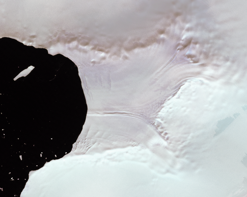 Feb. 15, 2000, Landsat 7 (path/row 222/110) — Verdi Ice Shelf, Antarctica