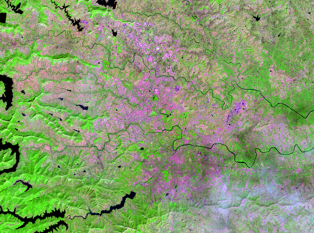 Nov. 7, 2017, Landsat 8 (path/row 147/47) — Pune, India