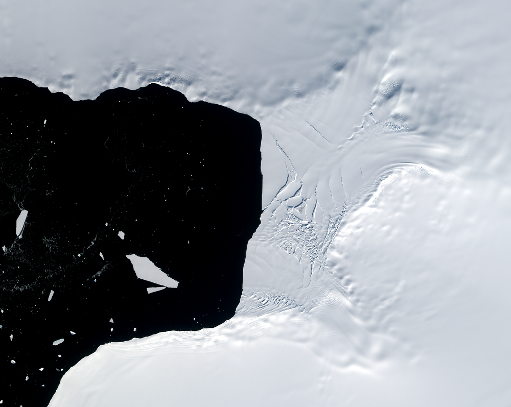 Mar. 10, 2021, Sentinel-2B — Verdi Ice Shelf, Antarctica