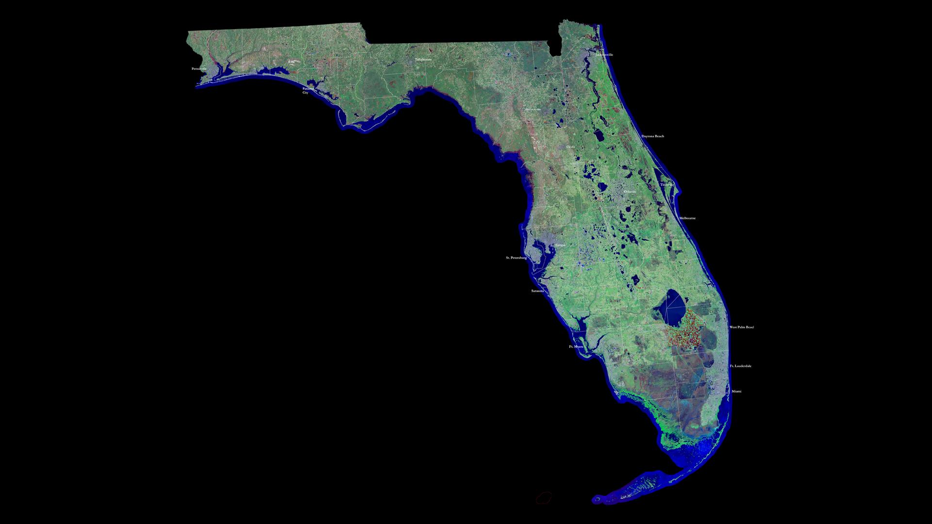 земля во флориде