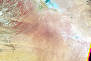Wadi As-Sirhan Basin, Saudi Arabia