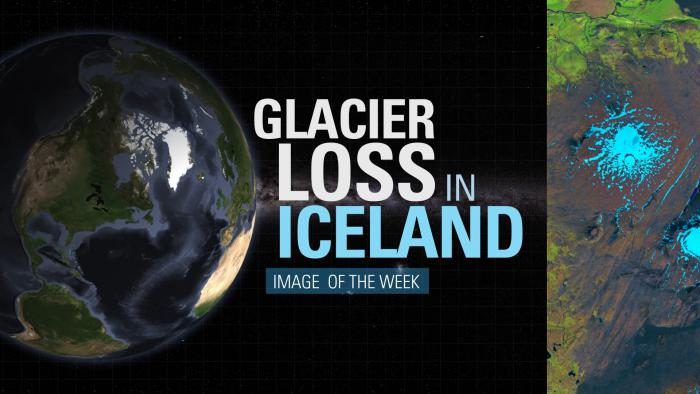 Thumbnail for Image of the Week - Glacier Loss in Iceland