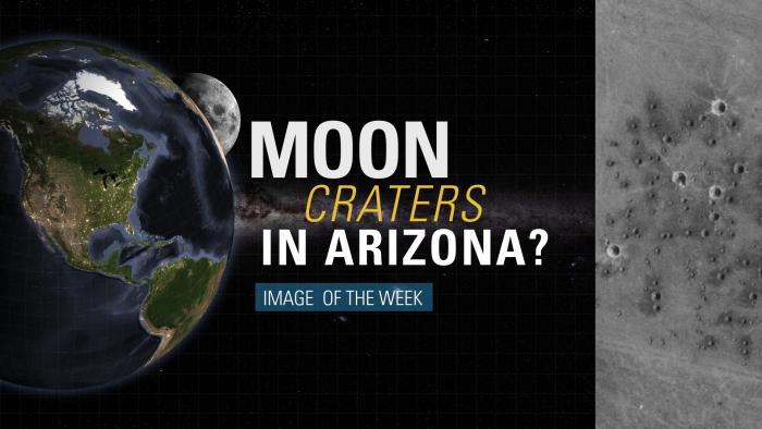 Thumbnail for Image of the Week - Moon Craters in Arizona