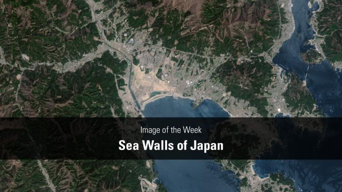 Thumbnail for Image of the Week - Sea Walls of Japan