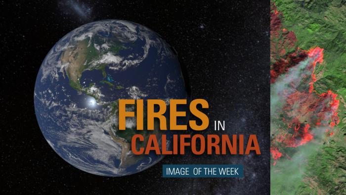 Thumbnail for Image of the Week - Fires Across California