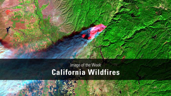 Thumbnail for Image of the Week - California Wildfires