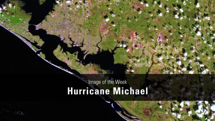 Thumbnail for Image of the Week - Hurricane Michael