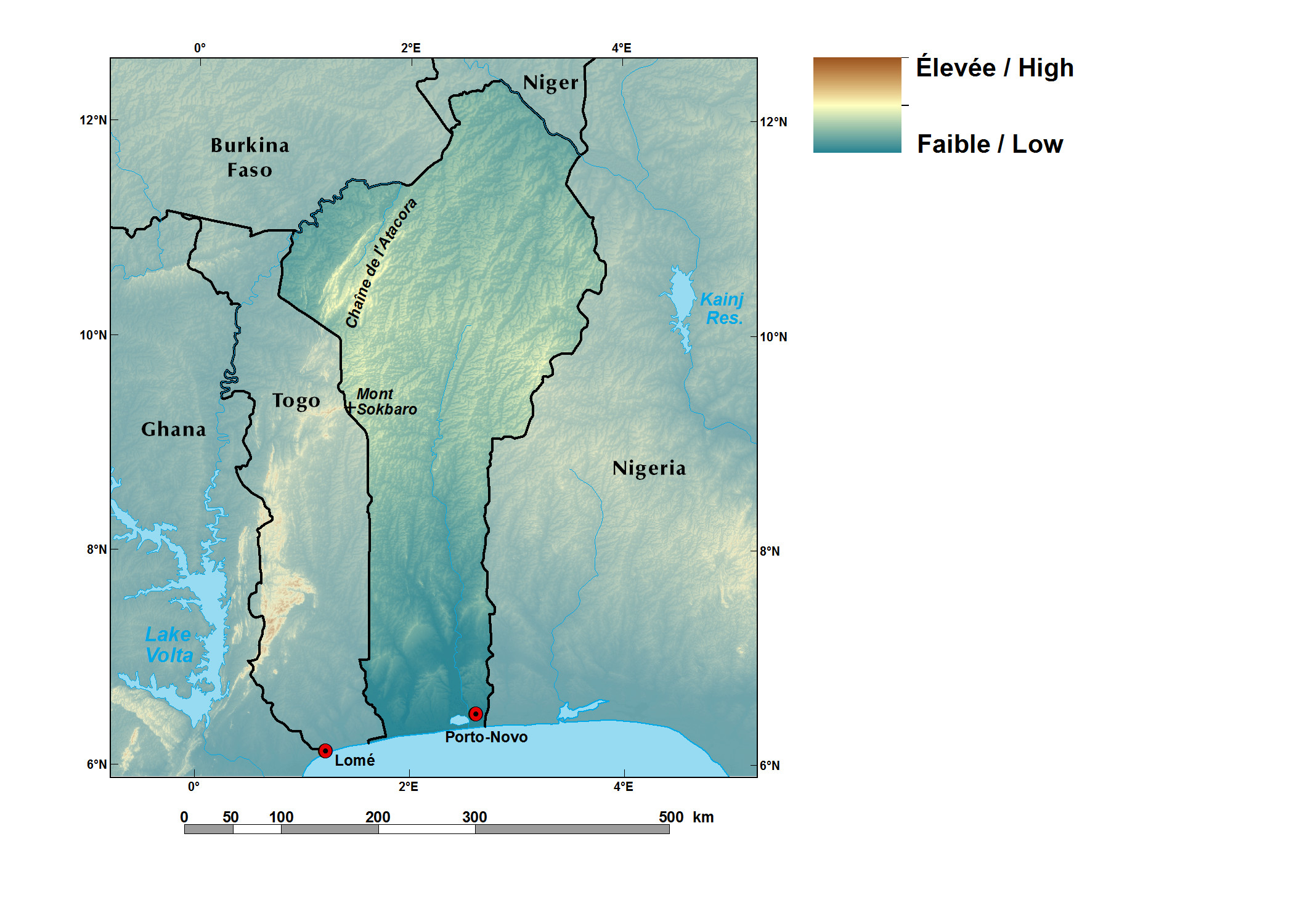 Ecoregions and Topography of Benin | West Africa