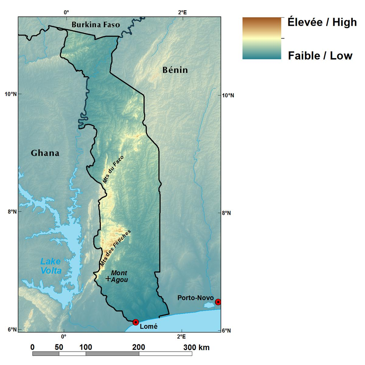 Ecoregions and Topography of Togo | West Africa