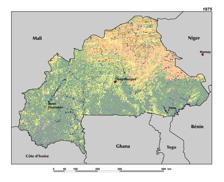 Land Use, Land Cover, and Trends in Burkina Faso | West Africa