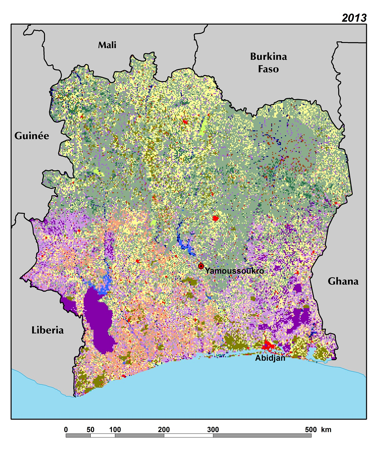 Land Use, Land Cover, and Trends in Côte d\'Ivoire | West Africa