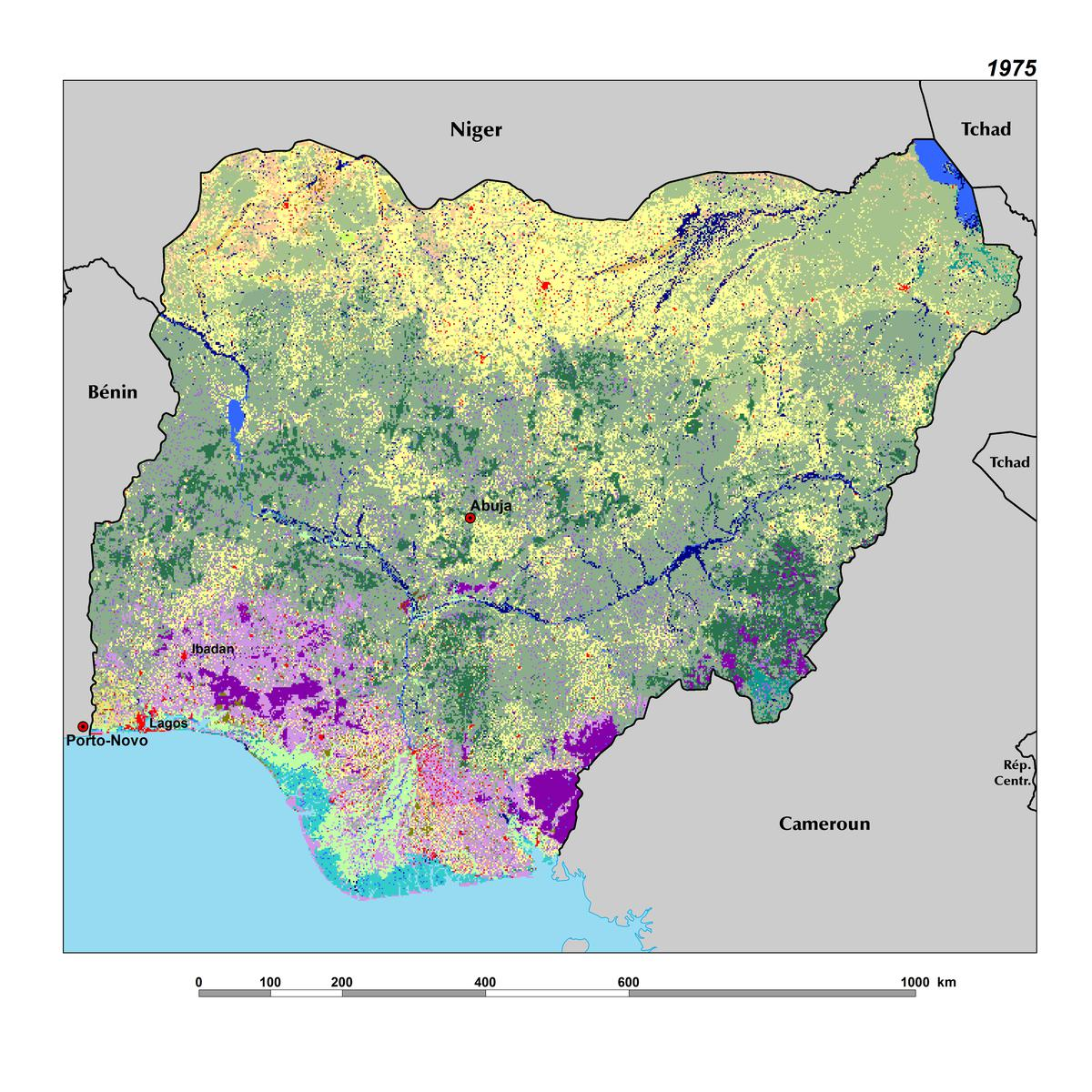 Land Use, Land Cover, and Trends in Nigeria | West Africa