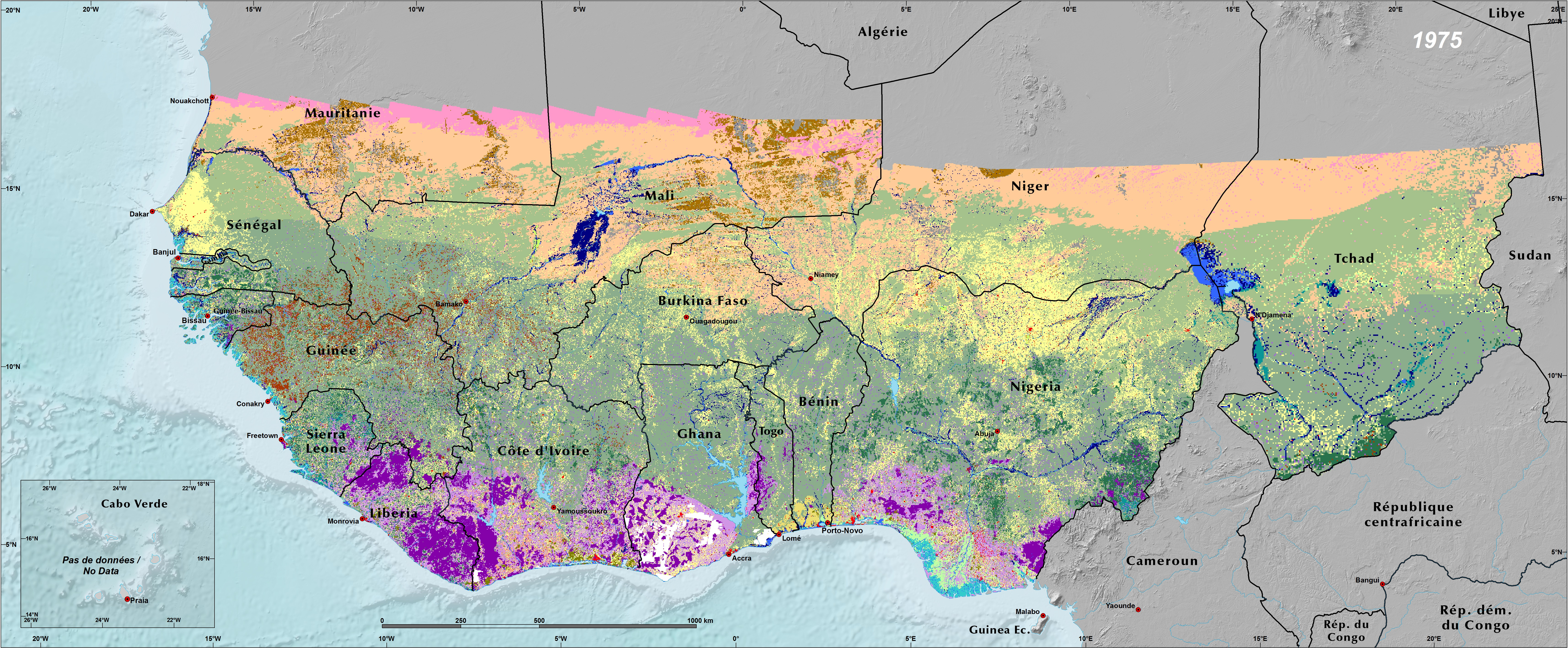 Land Use and Land Cover Trends in West Africa West Africa