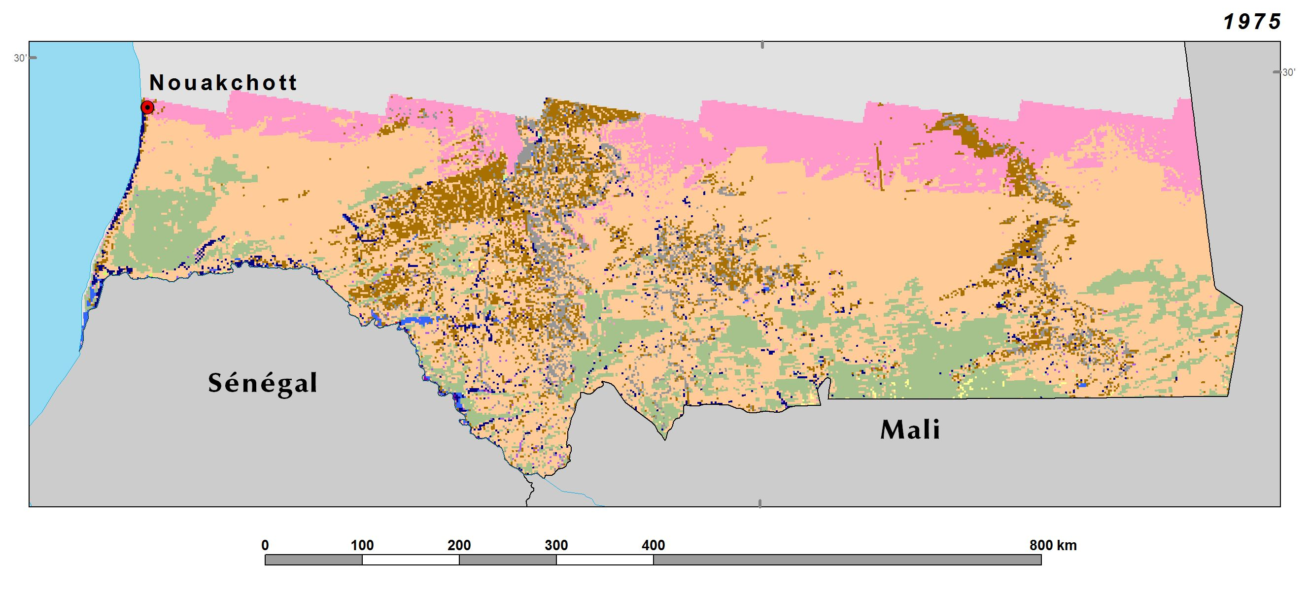 Land Use, Land Cover, and Trends in Mauritania | West Africa