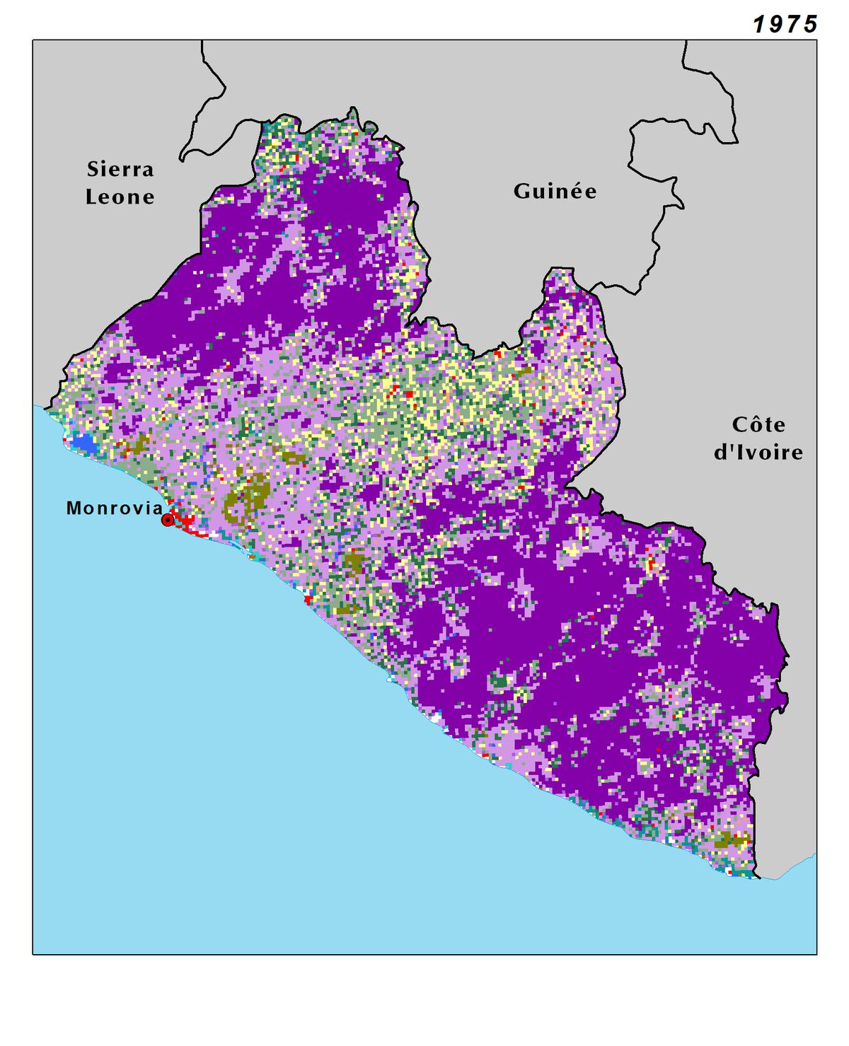 Image of: Land Use Land Cover And Trends In Liberia West Africa