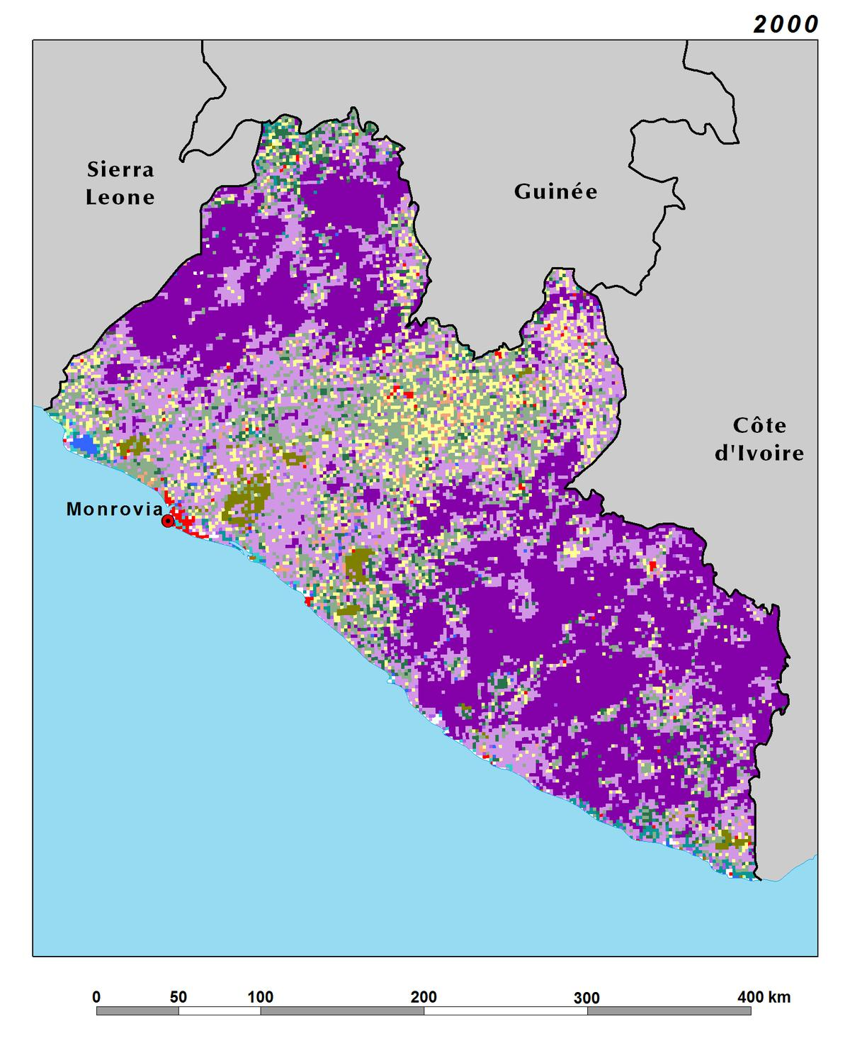 Land Use Land Cover And Trends In Liberia West Africa