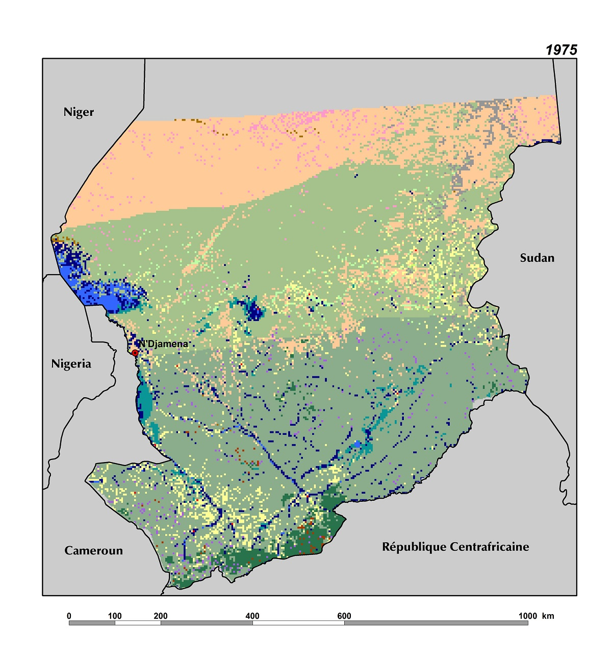 Land Use, Land Cover, and Trends in Chad   West Africa