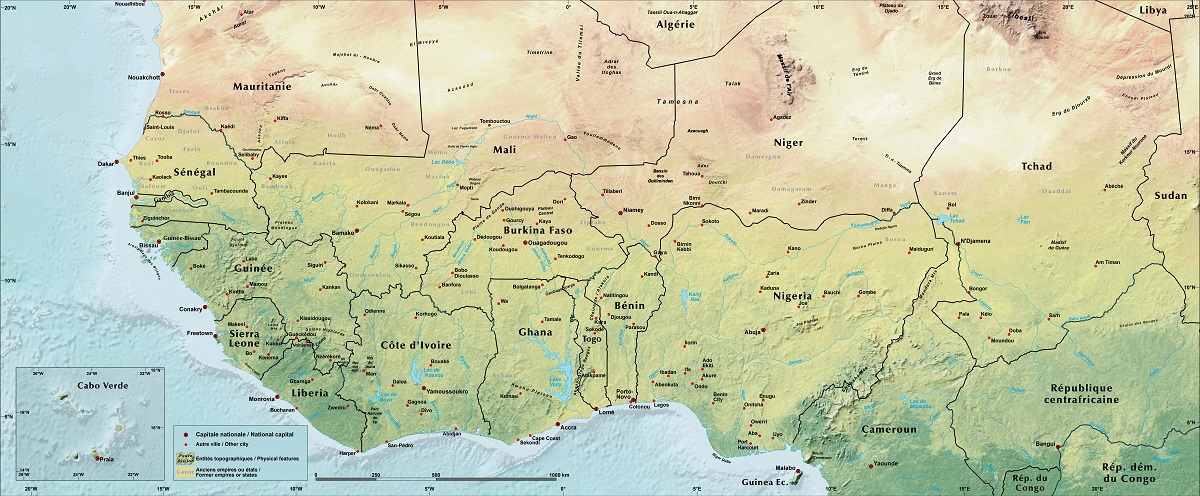 Physical Geography West Africa