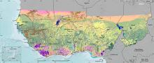2013 West Africa land use land cover thumbnail image