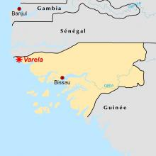 Varela locator map